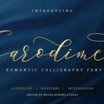 Sarodime Script Font Free