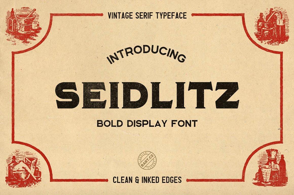seidlitz-typeface