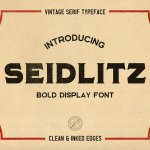 Seidlitz Typeface Free