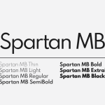 Spartan MB Font Family Free
