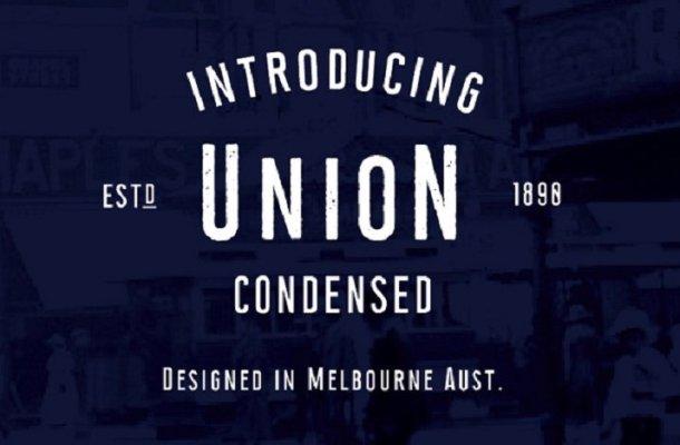 Union Condensed Typeface Free
