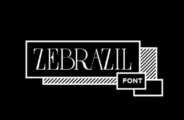 Zebrazil Font Free
