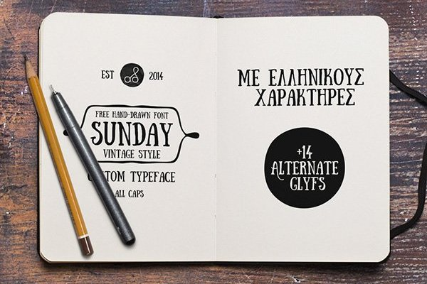 Sunday Font Style Free