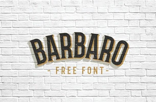Barbaro Font Free