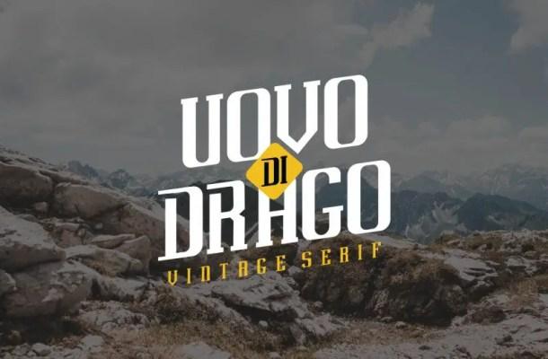 Uovo Di Drago Typeface Free