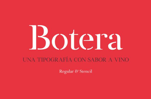 Botera Typeface Free