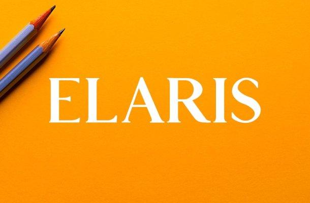 Elaris Serif Font Free