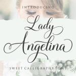 Lady Angelina Script Font
