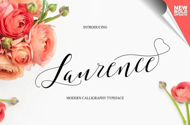 Laurence Script Font Free