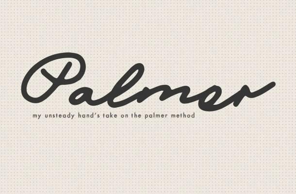 Mix Palmer Script Font Free