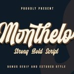 Monthelo Vintage Font Free