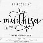 Mudhisa Script Font Free