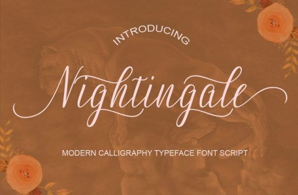 Nightingale Handwriting Font Free