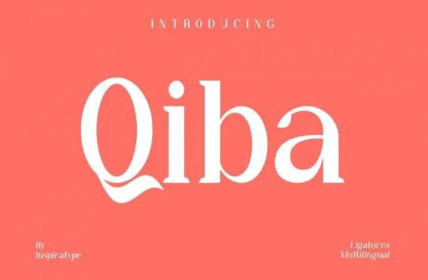 Qiba Serif Font Free