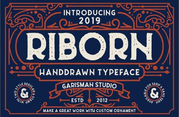 Riborn Typeface Free