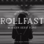 Rollfast Typeface Free
