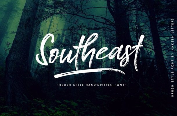Southeast Brush Font Free