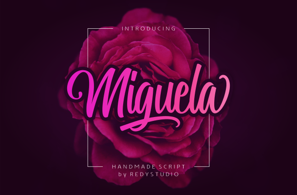 Miguela Script Font Free