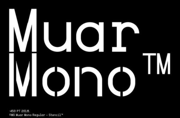 Muar Mono™ Typeface Free