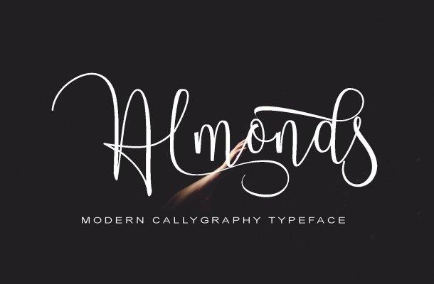 Almonds Script Font Free