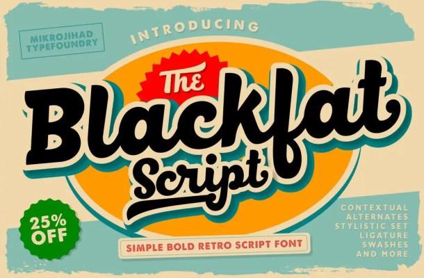 BlackFat Font Free
