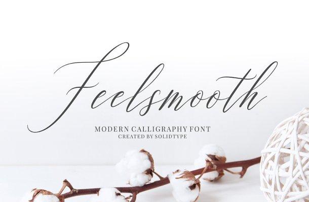 Feelsmooth Script Font Free