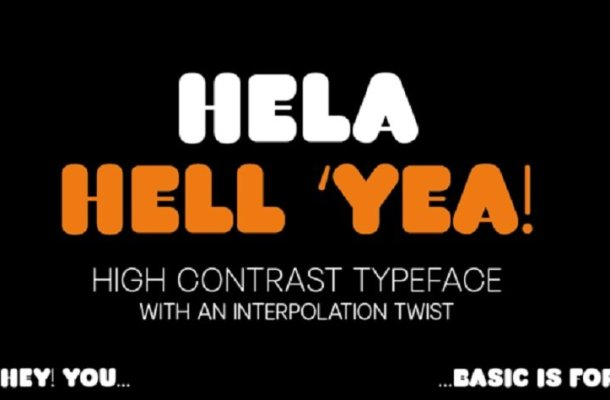 Hela Dysplay Font Family Free