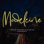 Madeleine Signature Font Free