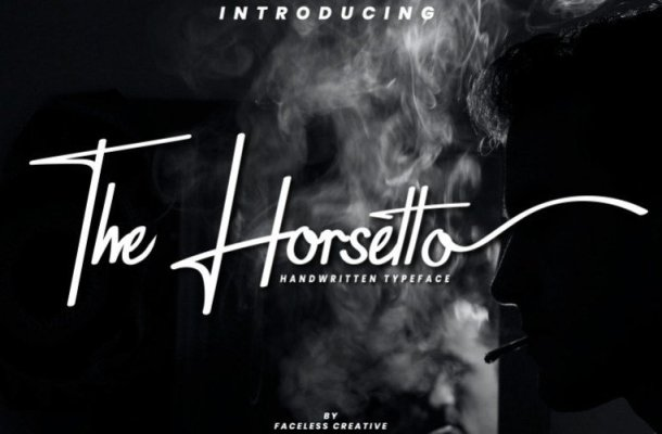The Horsetto Handwritten Font