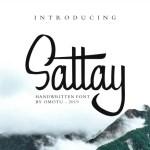Sattay Script Font Free