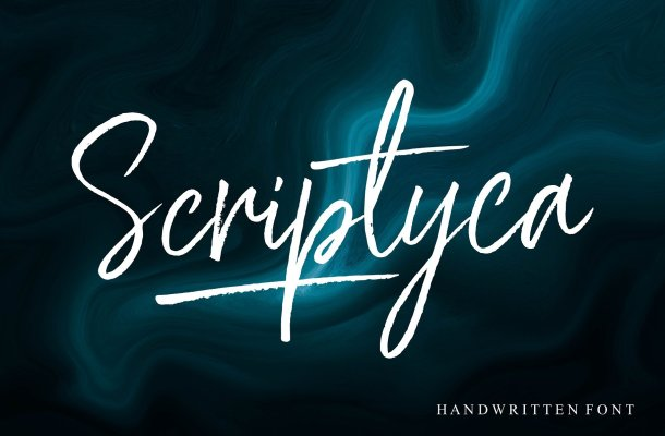 Scriptyca Brush Font Free