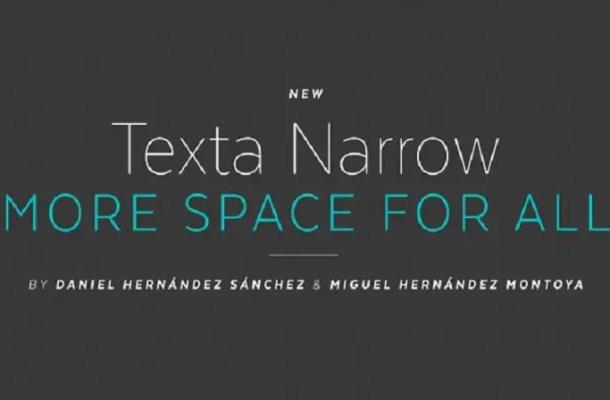 Texta Narrow Font Free