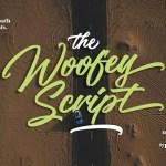 The Woofey Script Font Free