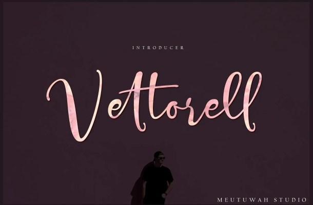 Vettorell Script Font Free