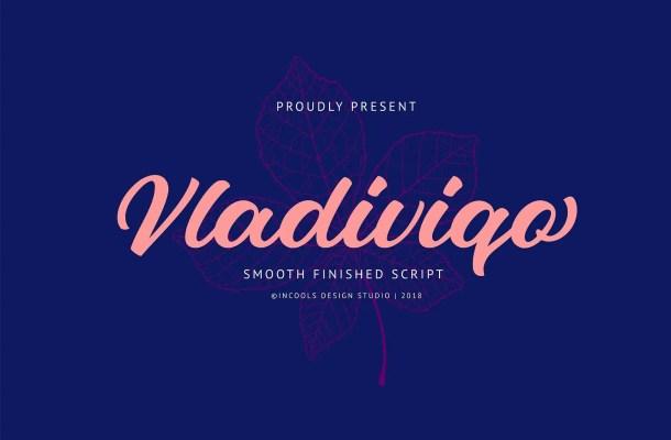 Vladiviqo Script Font Free