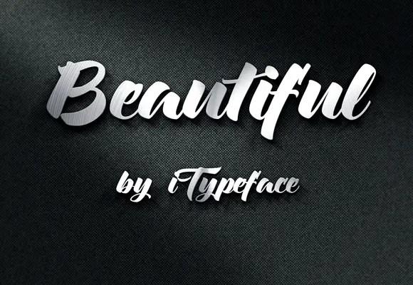 Beautiful Font Free