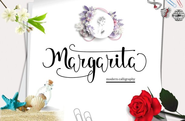 Margarita Script Font Free