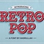 Retro Pop Font Family Free