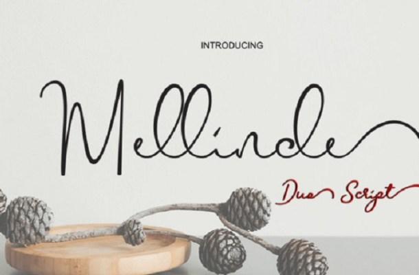 Mellinde Handwritten Font Free