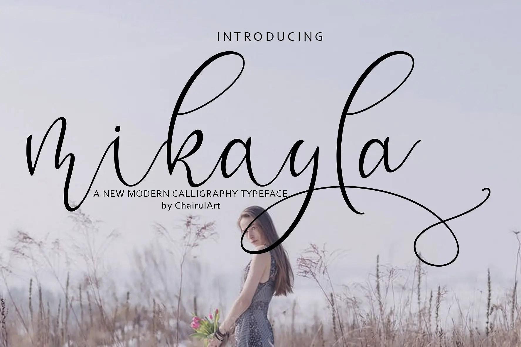 mikayla-script-font