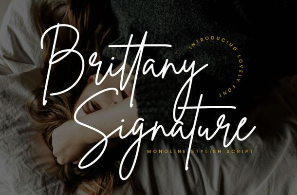 Brittany Signature Font Free