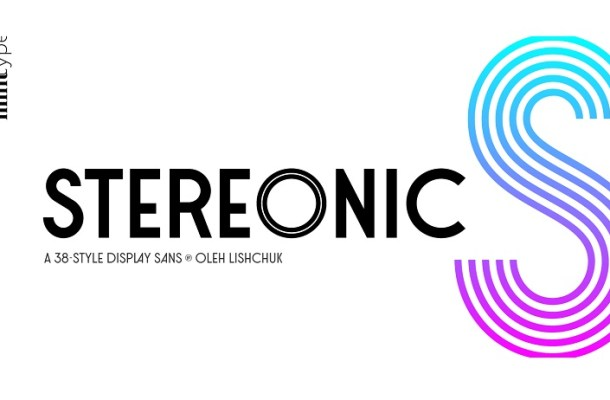 Stereonic Font Family Free
