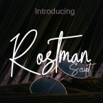Rostman Script Font