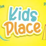 Kids Place Display Font
