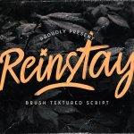 Reinstay Script Font