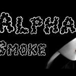 Alpha Smoke Fancy Font
