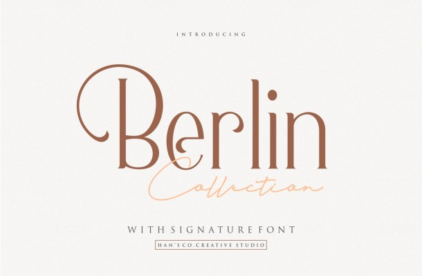 Berlin Collection Serif Font