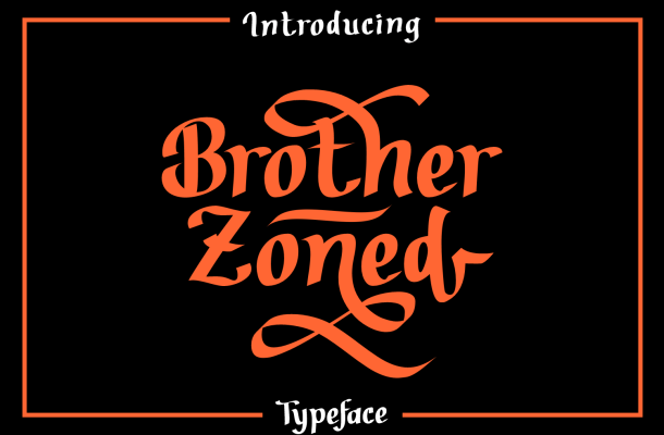 Brother Zoned Font Family