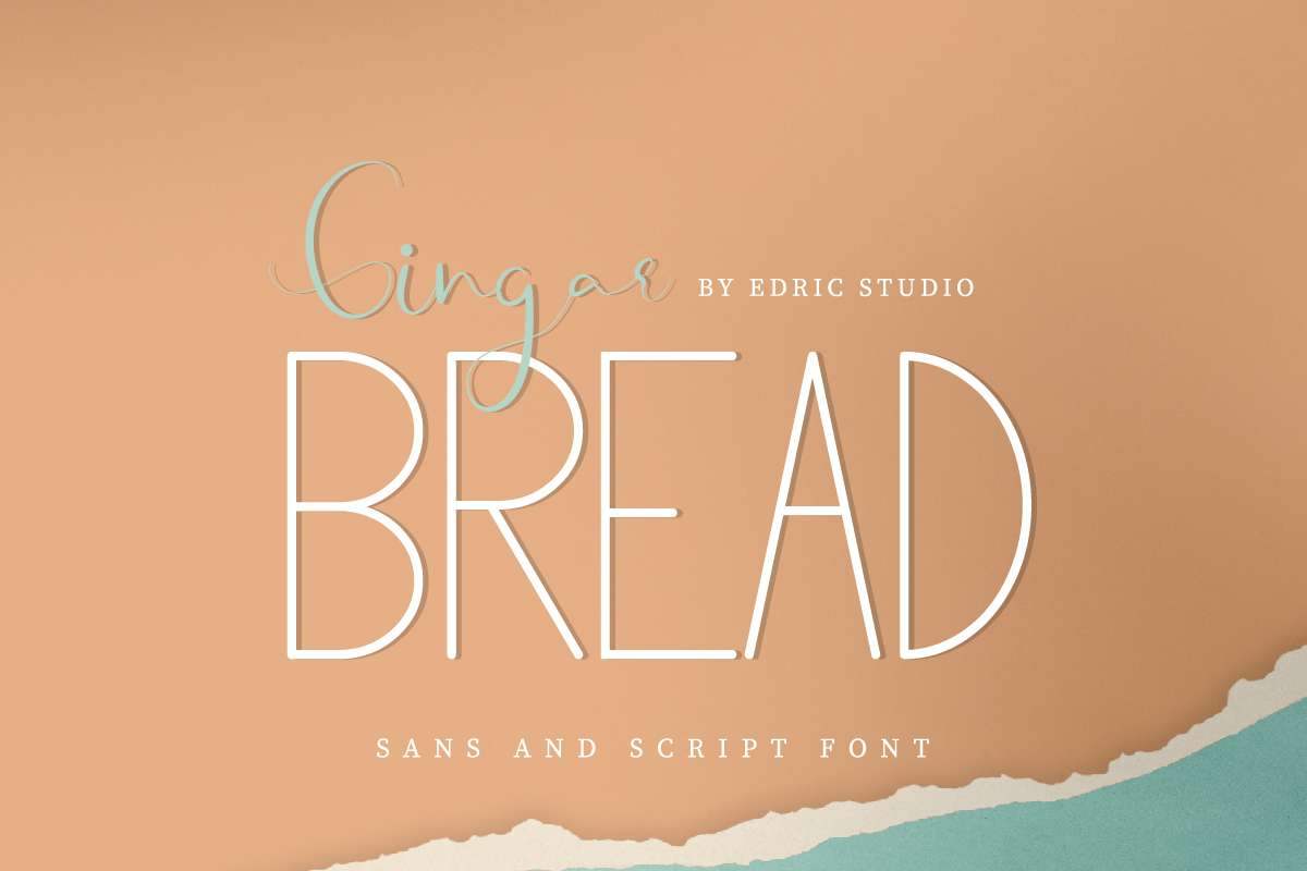 Gingar Bread Font Duo