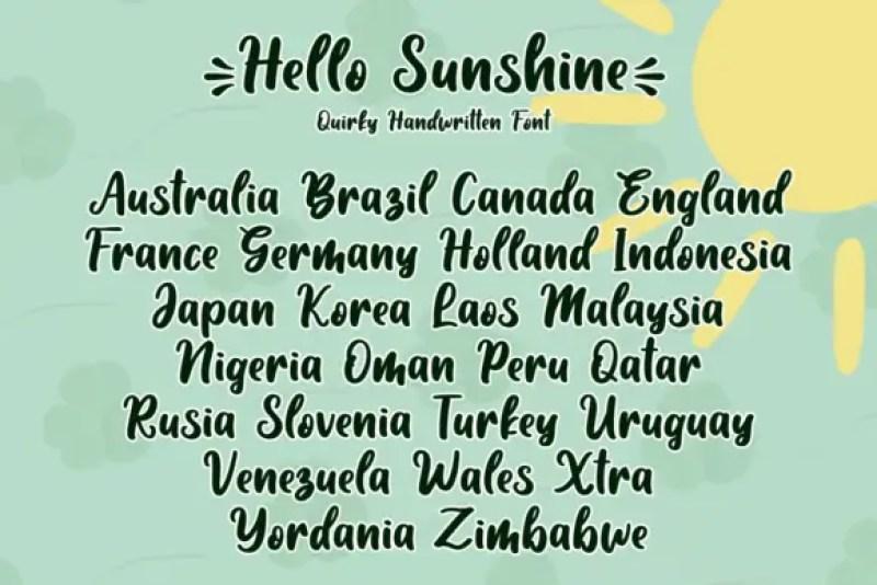 hello_sunshine 2